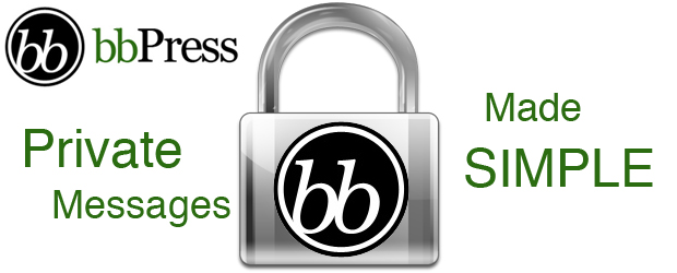 Private BBpress messages made simple