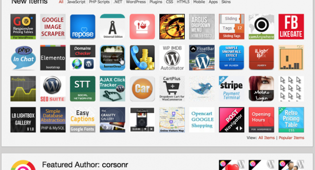 I'm the 1st Codecanyon Featured Author for 2013!