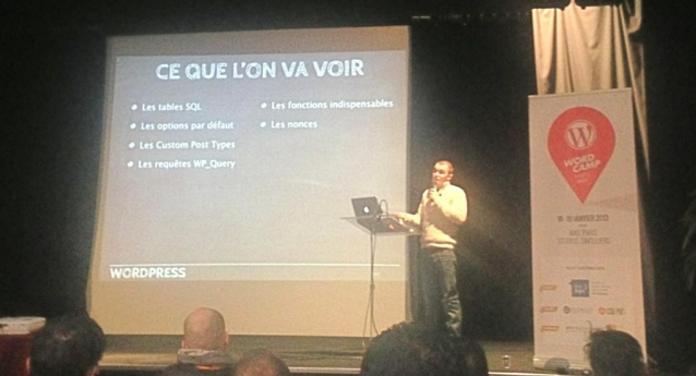 My Wordcamp Paris Presentation is on line