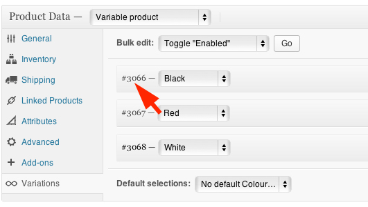 Add WooCommerce variable product with variations to cart